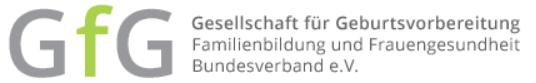 Logo Gesellschaft für Geburtsvorbereitung